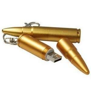 Cool Bullet Special Style 4GB USB Flash Drive with keychain