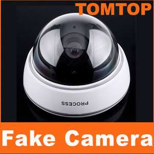 Wireless Fake Dummy Surveillance LED Security Camera A