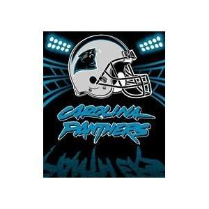 Carolina Panthers Fleece Throw (Shadow Series)