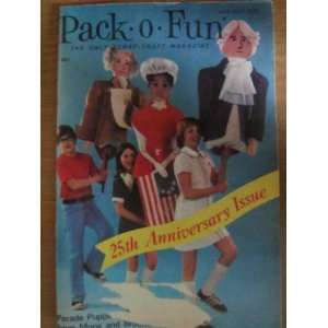 Pack o Fun Scrap Craft Magazine June July 1976 Everything