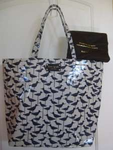 Kate Spade Daycation Bon Shopper Sandpiper Tote Bag NWT