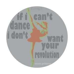 Dance Revolution Auto Glass Sticker