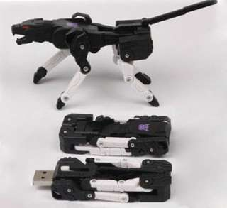 Transformers Ravage USB Flash Memory Stick Drive 4GB 8GB,16GB