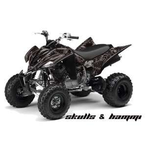 Huntington Ink AMR Racing Yamaha Raptor 350 ATV Quad Graphic Kit