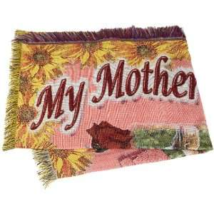Direct Home Textiles Group Mothers Day 50 by 60 Throw