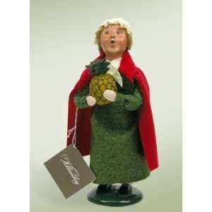 Byers Choice Carolers   Colonial Girl With Pineapple