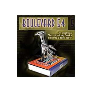 Boulevard 54 Bazar Book Magic Trick Professional Stage