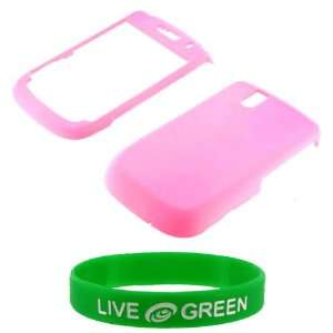 Pink Rubberize Hard Case for BlackBerry Tour 9630 Phone