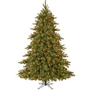 Foot Pre Lit Canyon Pine Christmas Tree with 2205 tips and 800