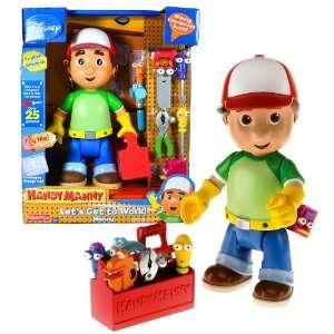 Fisher Price Year 2008 Disney Cartoon Handy Manny Lets