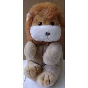 Lion Stuffed Animal Plush Toy   11 inches tall Office