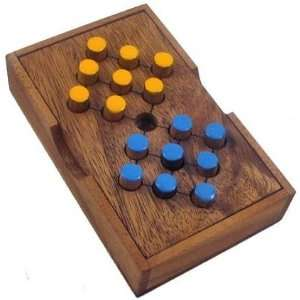 Switch Eight Wooden Brain Teaser Puzzle Toys & Games