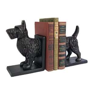 Classic Iron Scottish Terrier Dog Cast Iron Sculpture