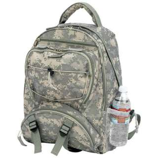Camo Water Repellent Backpack Army Military Camping Hunting Day Pack