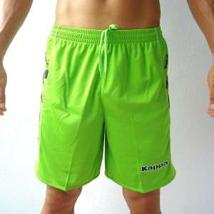 KAPPA Mens Football Soccer Jersey Shorts Green M L XL