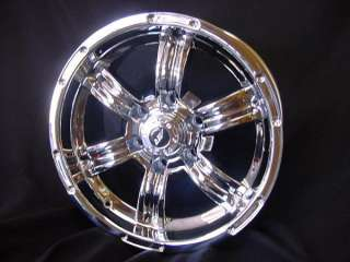 AMERICAN RACING TRENCH CHROME FORD 150 04 up,, CHEVY GMC SILVERADO