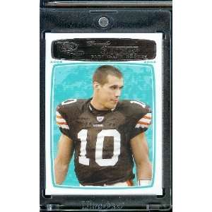 Brady Quinn   Cleveland Browns   NFL Football Trading Cards Sports