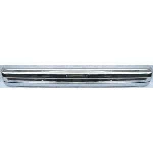 83 85 FORD RANGER FRONT BUMPER CHROME TRUCK, With Ends Holes (1983 83