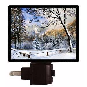 Winter Night Light   Winter Wonderland   LED NIGHT LIGHT