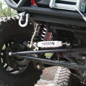 Rugged Ridge 18475.03 ORV Steering Stabilizer for 07 Up Wrangler JK 2