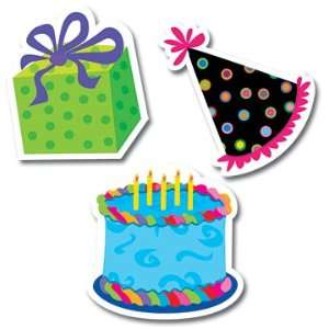 16 Pack CREATIVE TEACHING PRESS PP HAPPY BIRTHDAY MINI CUT