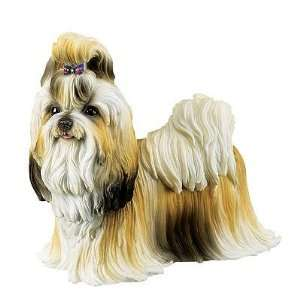 Shih Tzu Dog Collectible Figure H 6 x L 7