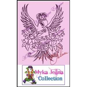 Loves Reign Rubber Stamp By Myka Jelina