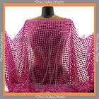 stretch Lace Mesh fabric Orange Price per 1 2 yard items in