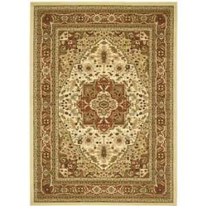 Safavieh Rugs Lyndhurst Collection LNH330R 9 Ivory/Rust 9 x 12 Large