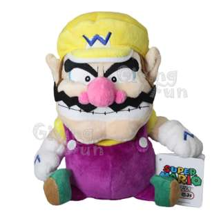 GENUINE Nintendo Super Mario Bros 10 Wario Plush Doll