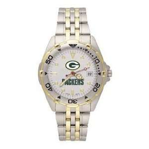 Green Bay Packers Mens All Star Sterling Silver Bracelet