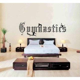 Large  Easy instant decoration wall sticker wall mural Gym gymnastics