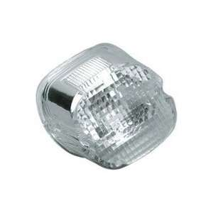 Laydown Taillight Lens with Clear Top for Harley Davidson