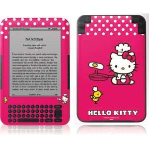 Hello Kitty Cooking skin for  Kindle 3