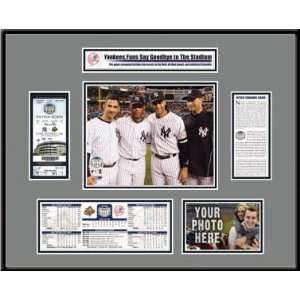 Ticket TFRBBNYYFG New York Yankees  Yankee Stadium Final Game Ticket