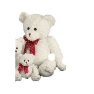 Lots of Loveable   Giant White Valentines Teddy Bear with