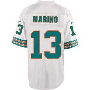 Dan Marino Miami Dolphins Replithentic Throwback Football Jersey By