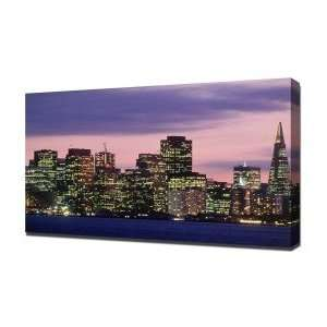 com San Francisco   Canvas Art   Framed Size 16x24   Ready To Hang