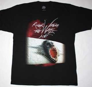 ROGER WATERS THE WALL USA TOUR 2012 PINK FLOYD PROGRESSIVE NEW BLACK T