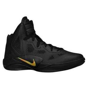 Nike Zoom Hyperfuse 2011   Mens   Basketball   Shoes   Black/Black