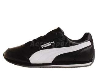 Puma Rio Racer S/L Black White 2011 Mens Retro Running Casual Shoes