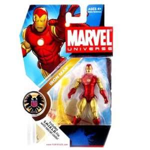 Series 3 Iron Man (Classic Armor) Action Figure Toys & Games