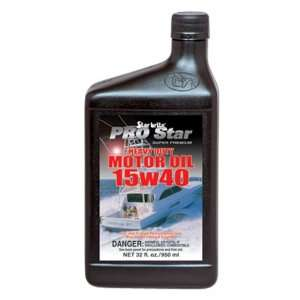 Star Brite SAE 15W 40 Pro Super Premium Heavy Duty Motor Oil (32 Ounce