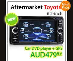Camry Aurion Car DVD GPS Sat Nav DVBT TV Player Stereo Head Unit Radio