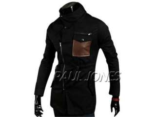 Stylish Slim Fit Jackets Coats Trench Hoody SzXS~L 3Colors 2011