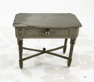 ANTIQUE MINI TABLE DRESSER JEWELRY BOX