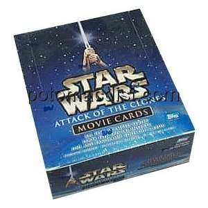 Star Wars Attack Of The Clones Trading Cards Retail Box