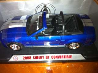 FORD SHELBY COBRA GT 08 CONVERTABLE1/18 SCALE DIE CAST   A LIMITED