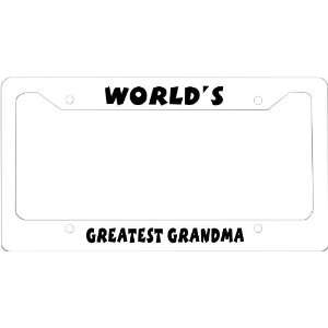 Grandma novelty License Plate Frame for Car License Plate Frame
