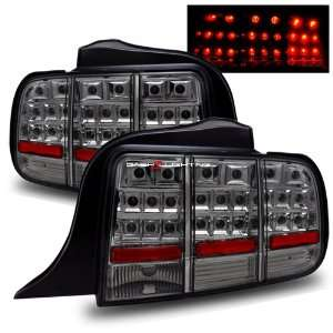 05 09 Ford Mustang LED Tail Lights   Smoke Automotive